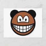 Bear smile   postcards