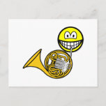 French horn smile   postcards