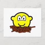 Birds nest buddy icon   postcards