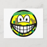 Camouflage smile   postcards