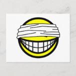 Blindfolded smile   postcards