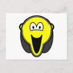 Scream buddy icon   postcards