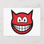 Devil smile   postcards