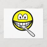 Silver spoon smile   postcards