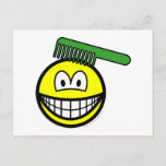 Combing smile   postcards