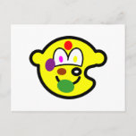 Painters palette buddy icon   postcards