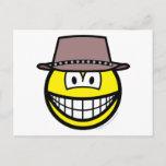 Cowboy smile   postcards