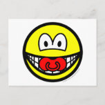 Dummy smile Baby pacifier  postcards