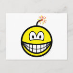 Bomb smile   postcards
