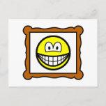 Picture frame smile   postcards