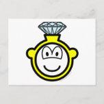 Diamond ring buddy icon   postcards