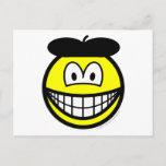 Baret smile   postcards