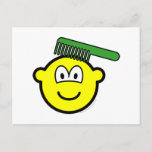 Combing buddy icon   postcards