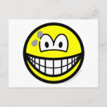 Pierced smile   postcards