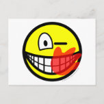 Slap smile slapped  postcards