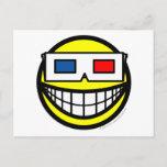 3D bril smile   postcards