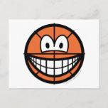 Basketball smile   postcards