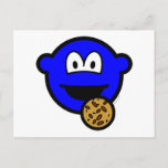 Cookie monster buddy icon   postcards