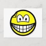 Dented smile   postcards