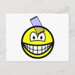 Sticky taped smile   postcards