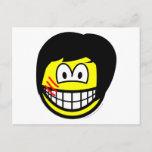 Bruce Lee smile   postcards