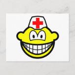 Male nurse smile   postcards