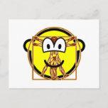 Vitruvian Man buddy icon Da vinci  postcards