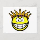 King smile   postcards