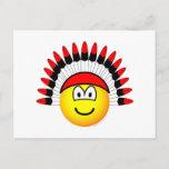 Chieftain emoticon   postcards