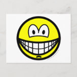Chin dimple smile   postcards