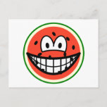 Watermelon smile   postcards