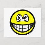 Euro eyed smile   postcards