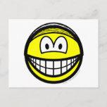 Hairnet smile   postcards