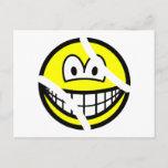 Tennisball smile   postcards