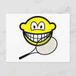 Tennis smile   postcards
