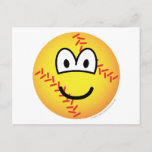 Baseball emoticon   postcards