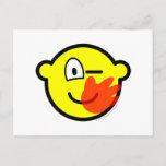 Slap buddy icon slapped  postcards