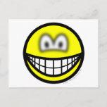 Blurry eyed smile   postcards