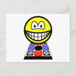 Dance dance revolution smile   postcards