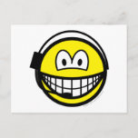 Headset smile   postcards