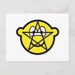 Pentacle buddy icon   postcards