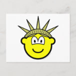 Buddy icon of liberty   postcards