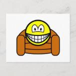 Armchair smile   postcards