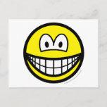 Shaken smile   postcards