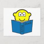 Reading buddy icon   postcards