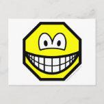 Octagon smile   postcards