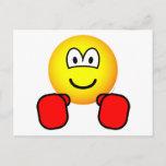 Boxing emoticon   postcards