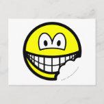 Bitten smile   postcards