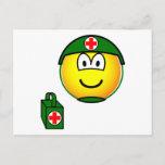 M*A*S*H emoticon medic  postcards