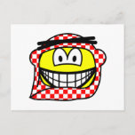 Jordan head cap smile   postcards